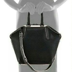 Alexander Wang Emile Mesh Leather Bag